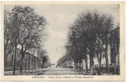 Ancona - Viale Carlo Alberto E Chiesa Salesiani - Prop Ris Luigi Solferini - Unused - Ancona