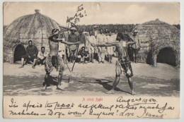 ZULU STICK FIGHT, ZULULAND, 1903 - Südafrika