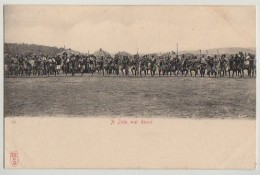 ZULU WAR DANCE, C1903 - Südafrika