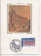 75 - PARIS - Carte Maximum: Abbaye De St Germain Des Prés : Photo Sur Soie, Avec Timbre: 1979 - Eglises