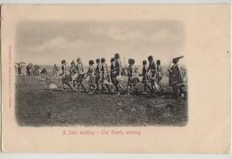 ZULU WEDDING,GUESTS ARRIVING, ZULULAND,c1903 - Südafrika