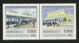 IRELAND 2004 INTRODUCTION OF LUAS TRAM SET MNH - 1949-... Republiek Ierland