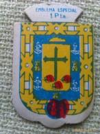 Emblema De Auxilio Social De 1 Peseta De Tenerife. Islas Canarias. Serie B. Nº 316. Guerra Civil Española. 1936-1939¡ - 1939-45
