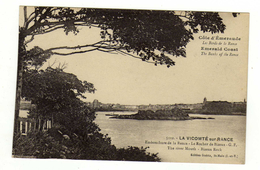 Cpa N° 5112 LA VICOMTE SUR RANCE Embouchure De La Rance Le Rocher De Brizeux - Altri Comuni