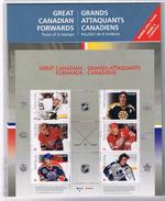 Canada Great Forwards Hockey Crosby Esposito Lafleur Yzerman Messier Sittler Souvenir Sheet Block MNH 2016 A04s