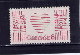 CANADA ,1972, #560i, DULL,  UNITED  NATIONS WORLD HEALTH DAY   MNH - Unused Stamps