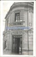 59725 ARGENTINA CORDOBA VILLA MARIA SALON AZUL YEAR 1939 POSTAL POSTCARD - Argentinien