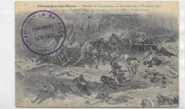 CPA CHAMPIGNY SUR MARNE Bataille Les 30 Novembre Et 2 Décembre 1870 - Champigny Sur Marne