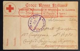 Corrispondenza PRIGIONIERI DI GUERRA CROCE ROSSA COMITATO MONTELEONE DI CALABRIA > Mannheim 1918 - Storia Postale