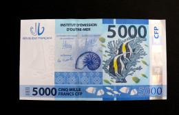 Billet De 5 000 Francs, Nouvelle Calédonie 2016 - NEUF, Série A0 ! - Territori Francesi Del Pacifico (1992-...)