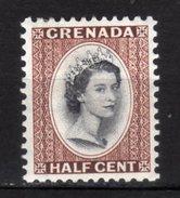GRENADA - 1953/59 Scott# 171 * - Grenada (...-1974)