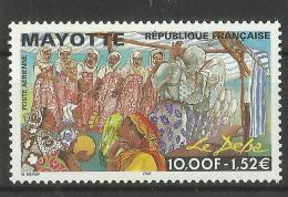 MAYOTTE 1999 LE DEBA MNH - Mayotte (1892-2011)