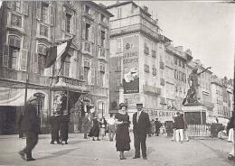 """TOULON  LE PORT  QUAI CRONSTADT  -CUVERVILLE -  PUB """"CREME ELLIPSE""""    Environ 1930  8X6cm - Lieux"""