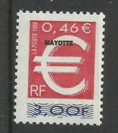 MAYOTTE 1999 MNH - Mayotte (1892-2011)