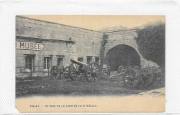 LOT 2 CPA DINANTun Coin De La Cour De La Citadelle/ Canons Et Mortier - Dinant