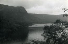 Angleterre Lake District Lac De Barrage Thirlmere Ancienne Photo Amateur 1930 - Places