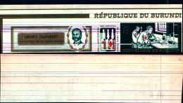 84043) Burundi-1969-50 Anni Della Croce Rossa N.111-nuovo-non Dentellato - Burundi