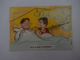 Toi Et  Ta Peau à Moustiques  ( Couple Au Lit  Chasse Les Moustique ) - Alexandre