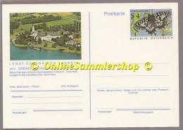 Österreich - Bildpostkarte - Ossiach - Marke: Schmetterling - Osterluzeifalter (Zerynthia Polyxena) - Blanco - Papillons