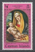 Cayman Islands 1969. Scott #245 (M) Christmas, Madonna And Child, By Alvise Vivarini * - Iles Caïmans