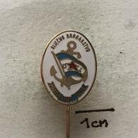 Badge (Pin) ZN003409 - Ship (Schiff / Boat) Rijecno Brodarstvo (River Transportation) Dunavski Lloyd Sisak - Boats