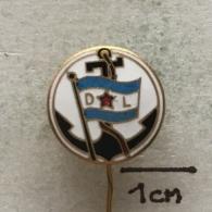 Badge (Pin) ZN003411 - Ship (Schiff / Boat) Rijecno Brodarstvo (River Transportation) Dunavski Lloyd Sisak - Boats