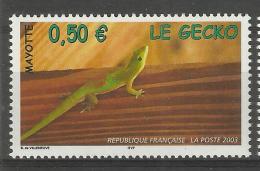 MAYOTTE 2003 LIZARD,GECKO MNH - Mayote (1892-2011)