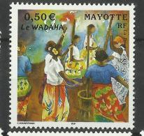 MAYOTTE 2004 DANCE MNH - Mayotte (1892-2011)