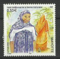MAYOTTE 2005 TRADITIONAL COSTUMES MNH - Mayotte (1892-2011)