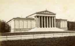 Germany Munich Munchen Beaux Arts Palace Old Albumen Photograph 1890 - Photos