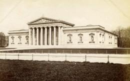 Germany Munich Munchen Monument Building Albumen Print Photograph 1890 - Photos