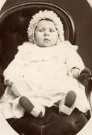 France Versailles Bebe Assis Ancienne Photo CDV 1900 - Photographs