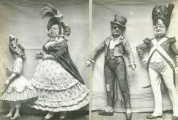 France Cartonnages Figurines De Gaulhier Pour La Samaritaine Ancienne Photo 1913 - Photographs