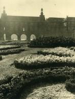 Laure Albin Guillot Vue D'un Chateau Et Son Jardin Ancienne Photo Signee Vers 1930 - Photographs