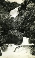 Nouvelle Guinee Riviere Cascade Foret Ancienne Photo 1940 - Photographs