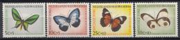 Nederlands Nieuw Guinea - Sociale Zorg: Vlinders - MH - NVPH 63-66 - Vlinders