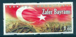 TURKEY 2016 VICTORY DAY - FLAG MNH M07456 - 1921-... Republic