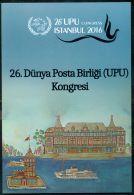TURKEY 2016 26TH WORLD UPU CONGRESS SPECIAL PORTFOLIO M07463 - Nuevos