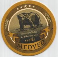 MEDVED Pivo Microbrewery Serbia - Beer Mats