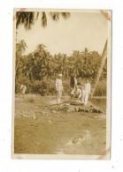 POLYNESIE  FRANCAISE  /  TAHITI  /  PLAGE  DE  VAHAROA  ( Le  28 - 6 - 1931 ) /  Cliché Argentique - Tahiti