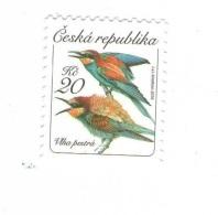 Czech Republic 2016 - Merops Apiaster, 1 Stamp, MNH