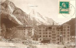 Zinal - Les Hôtels Et Le Besso             1928 - VS Valais