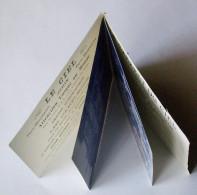 """Paris - Montmartre - Mini Livret Publicitaire (2 CPA) Du Cabaret """"Le Ciel"""" - Document Fragile En Assez Bon état - Arrondissement: 18"""