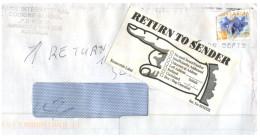 (889) Australia RTS (Return To Sender) Letter - Australia