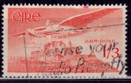 Ireland 1954, Airmail, Rock Of Cashel, 1sh3d, Sc#C6, Used - Airmail