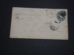 ETATS UNIS - Entier Postal De Bonnet Carré Pour La France En 1895/96 , Complément Au Verso Absent - A Voir - L 4598