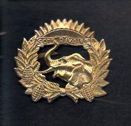 Insigne De Béret,casquette Ou Veste Armée De Cote D'Ivoire (Eléphant ) - Otros