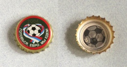Capsule Bière Brasserie De Moscou, Foot (crown Beer Cap, Kronkorken, Tappi Birra) - Bière