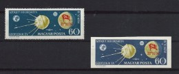 Hungary (Magyar Posta), Michel-No. 1629 A + B  ( As Per Scan) MNH
