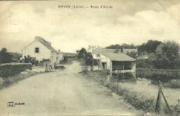 45  NEVOY - ROUTE D' ARCOLE (coupure Et Pli D' Angle) (ref 26640) - France